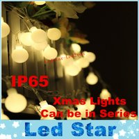 Wholesale indoor christmas tree lights - 10M 100LEDs Globe Led String Lights 9 Colors Ball Fairy Light For Party Christmas Wedding New Year Indoor&outdoor Decoration