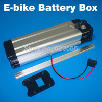 Wholesale 36v Battery For Bicycle - Batteries Packs Free Shipping Ebike box Electric bicycle case for DIY battery pack With free 18650 cell holder 36V