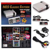 Wholesale Old Bit - Super Famicom Mini Classic SFC TV Video Handheld Game Console Entertainment System Built-in 500 Classic Games 8 Bit For NES SNES