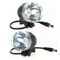 xml t6 führte fahrradlicht großhandel-1800 Lumen Super Helle XML T6 LED Fahrrad Licht Scheinwerfer 3 Modus LED Fahrrad Licht Taschenlampe + 8,4 v 6400 mAh batterie