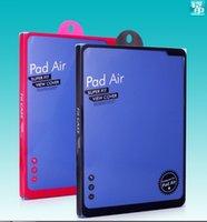 faltende plastikabdeckung großhandel-500 stücke mode universal original design kleinverpackung verpackung box, kunststoff box für ipad air smart cover tablet case