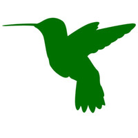 Wholesale window sticker birds for sale - Group buy Vinyl Decals Car Stickers Glass Stickers Scratches Stickers Wall Die Cut Bumper Accessories Jdm Humming Bird