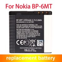 Wholesale Battery Bp 6mt - Hot Selling Mobile Phone BP-6MT BP6MT Battery For Nokia 6350 6750 E51 N81 N82 1050mAh