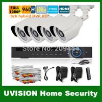 Wholesale 3g Cctv Surveillance Camera - HD 1080P 960H 8Channel video surveillance 8ch onvif NVR for IP camera DVR Kit 8ch CCTV 800TVL security camera system p2p 3g
