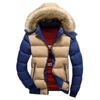 Wholesale clothes young men for sale - Cotton men s new autumn winter new hats can remove young men s warm men s clothes