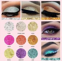 Wholesale Bright Shadow - FOCALLURE Professional 9 Colors Makeup Eyeshadow Palette Eye Shadow Bright Glitters Makeup Lips Face Glitter Palette