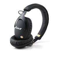 Wholesale audio monitoring resale online - Marshall Wireless Headphones Stereo Bluetooth Headphones Monitor HiFi Headsets audio helmet On Ear With Retail Box