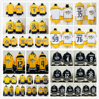 Wholesale Ryan White - 2018 New Nashville Predators 9 Filip Forsberg 12 Mike Fisher 35 Pekka Rinne 59 Roman Josi 92 Ryan Johansen 76 PK Subban Jersey