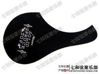 Wholesale Image Guitar - Folk guitar backplate acoustic guitar faceplate black with image MJTB-1010