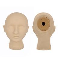 makyaj uygulamaları için mankenler toptan satış-Sıcak Satış Dövme Uygulaması Manken Başkanı Kalıcı Makyaj Modeli Kafa Güzellik Için 2 ADET Maskesi Sanat