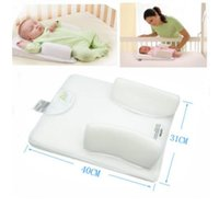 Wholesale Quality Infant Clothing - Baby Infant Newborn Anti Roll Pillow Sleep Positioner Prevent Flat Head Cushion baby clothing free shipping