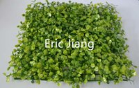 Wholesale Cheap Mats - Top cheap 2016 Free shipping artificial plastic boxwood mat UV protect buxus mat