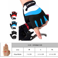 Wholesale Glove Bicycling - Wolfbike M-XL 2016 New Half Finger Professional Club Tour Cycling Gloves Outdoor Sports Bike Bicycle Team Gloves For Men Women