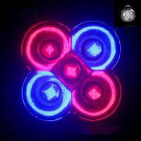 akvaryum ampulleri toptan satış-E27 GU10 LED Ampul Büyümek Lamba 15 W 3Red 2 Mavi LED Bitki Lambası Hidroponik Büyümek Ampuller Bahçe Sera LED Ampuller Akvaryum Işık