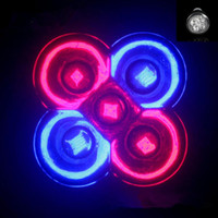 Wholesale led grow light aquarium plants - E27 GU10 LED Bulb Grow Lamp 15W 3Red 2Blue LED Plant Lamp Hydroponic Grow Light Bulbs Garden Greenhouse LED Bulbs Aquarium Light