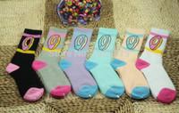 Wholesale Wholesale Black Socks For Boys - Wholesale-Odd Future Socks High Quality Thicken Version Odd Future Donut Socks For Hip Hop Girls Boys  Golf Wang