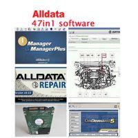 Wholesale Chevrolet 47 - 2016 Alldata 47 in 1TB HDD for All data repair software 10.53 alldata and Mitchell on demand +ATSG car repair software free ship