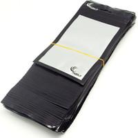 embalagem de varejo de plástico para celulares venda por atacado-500 pçs / lote atacado claro + preto saco de plástico de embalagem de varejo para o caso do telefone móvel carregador de carro acessórios saco de embalagem 20 * 11.5 cm