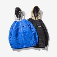 yüksek markalı giyim ceketi toptan satış-Yüksek sürüm yeezus Pamuk-yastıklı elbise ceket kış hava kuvvetleri MA1 uçuş takım elbise erkek Beyzbol Ceket justin bieber gelgit marka yüksek st
