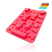Wholesale Character Silicone Molds - Hot Cute Cartoon Characters Couple Mouse Modeling Cake Molds, Food-grade Silicone Chocolate Mould Cake Decorating Tools