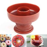 Wholesale Donut Maker Mold - Fashion Hot Donut Maker Cutter Mold Fondant Cake Bread Desserts Bakery Mould Tool DIY