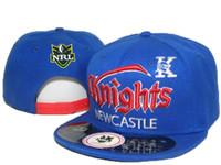 Wholesale Afl Caps - Sports Caps Blue Newcastle Knights Snapback Man And Woman afl Snapback Hats,baseball Caps,fashion Hats,hip Hop Caps,free Shipping DDMY