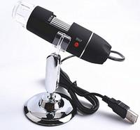 microscópio digital industrial venda por atacado-Microscópio digital USB 500 ampliador de microscópio industrial zoom 1-500x 500x