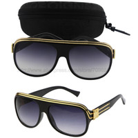 Wholesale Top Frameless Glasses - Wholesale-Free Shipping Top quality Millionaire Sunglasses Women Brand designer 2015 New Fashion Sun Glasses gafas de sol With Package