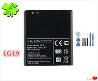 Wholesale Lg Optimus P769 - For LG Optimus L9 P769 P760 P765 P768 Battery Replacement High Quality With Free ePacket And Repair Tool Kit