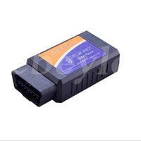 Wholesale Obdii Bluetooth Torque - 15PCS lot Hottest Works On Android Torque v1.5 Bluetooth ELM 327 Interface OBD2   OBD II Auto Car Diagnostic Scanner Tool OBDII
