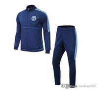 top thai 17 -18 MLS Tuta da calcio Toronto La Galaxy New York City Orlando Tuta da jogging Calcio Top Cappotto Pantaloni da ginnastica Tuta