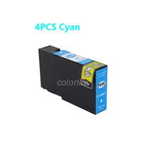 Wholesale Ink Cyan - New High-Yield Cyan Ink Cartridge For Canon PGI1200 XL PGI-1200 MAXITY MB2020 MB2320,4PACK 1 LOT