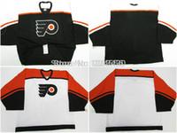 Wholesale Philadelphia Home Jersey - Mens&kids&womens customize philadelphia flyers jersey goalie cut Jersey home away jersey customize swen on Any Name & NO. Size
