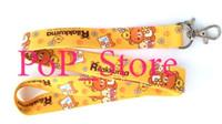 japanische lanyard großhandel-Großhandel - Cartoon Japanischen Anime San-X Rilakkuma Zeit Handy Riemen Charms / Hals Lanyard Schlüsselanhänger 18