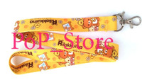 Wholesale anime cell for sale - Group buy Cartoon Japanese Anime San X Rilakkuma Time Cell Phone Straps Charms neck Lanyard Key Chain quot