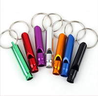 Wholesale Tools Mixed Kit - Hot New Survival Whistle Emergency Camping Compass Kit Fire Hiking Outdoor Tool Mixed Color