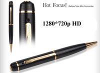 Wholesale Spy Pen 16g - 16GB memory built-in HD 1280*720P Pen hidden Camera with Web spy camera function HD 720P pen DVR Camcorder mini dvr PQ177