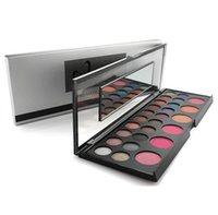 Wholesale Eyeshadow 26 Colors - New Professional 20 Colors Eyeshadow+6 Colors Brusher Eye Shadow Palette Makeup 26 Color Cosmetics Eyeshadow Palet