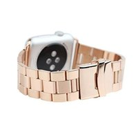 Wholesale Iwatch For Sale - Hot sale Luxury Stainless steel Fashional watch strap for Apple watch 38mm 42mm band for iwatch with Adapter connector