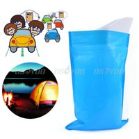 Wholesale Mobile Toilets - Portable Emesis Bag for Travel or Emergency Sick Convenient Urine Bags Mobile Toilets 3pcs lot Free Shipping & Drop Shipping order<$18no tra