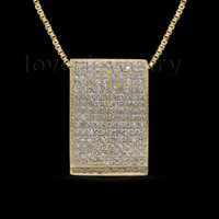 Gros-vente chaud Vintage 14kt Yellow Gold 0.73Ct Natural Diamond mariage Pendentif P233A