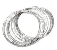 Wholesale Loop Bracelets - 200 Loops Memory Beading Wire 0.6mm for Bracelet 60mm-65mm Dia. order<$18 no tracking