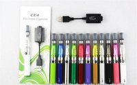 Wholesale Ce4 Cigarett - DHL free Ego starter kit CE4 atomizer Electronic cigarette e cig kit 650mah 900mah 1100mah EGO-T battery blister case Clearomizer E-cigarett