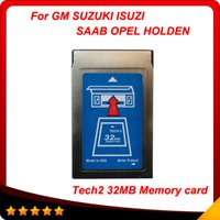 Wholesale Tech Code Reader Isuzu - 2015 Top-Rated Free Shipping 32MB CARD FOR GM TECH2 6 kinds software original gm tech2 32mb card ,32 MB Memory GM Tech 2 Card free shipping