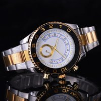Wholesale white swim top - Swimming submarine 44 mm top luxury brand sports people quality men's watch quartz watch in 16233 Look at the crown watch
