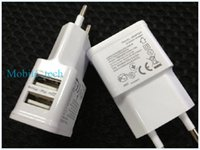 Wholesale S3 Mini Price - Best price 5V 2A Charger Dual USB EU US Plug Home Wall Charger Power Adapter For iPhone 4S 5 5c 5s iPad Mini Samsung Galaxy S3 S4 Note 2 3