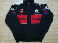 Wholesale Nissan Racing - Embroidery LOGO F1 FIA NASCAR IndyCar V8 Supercar Racing Cotton Jacket for Nissan Jacket A147