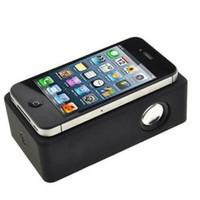 nota de audio al por mayor-Magic Boose Altavoz inalámbrico de inducción de audio Altavoces de amplificación de interacción cerca de campo Subwoofers para iPhone iPhone 6 Nota 4 S5 Etc DHL