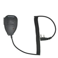 ingrosso walkie baofeng uv 5ra-All'ingrosso-Baofeng Microfono portatile con microfono MIC per walkie talkie UV-5R Portatile bidirezionale radio Pofung UV 5RE Plus UV-B5 BF-888S UV-82