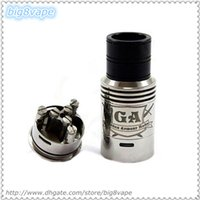 Wholesale Clone Mode - Rampage GA RDA Mode clone Stainless Steel Rebuildable Dripping Umbrella top cap e cigs mod Atomizer wholesale DHL free